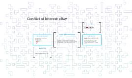 Conflict of Interest: EBay