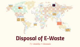 Disposal of E-Waste