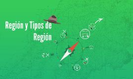 Región y tipos de región