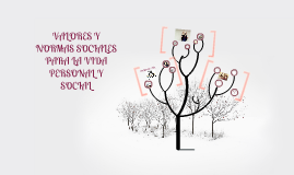 Valores y normas sociales para la vida personal y social