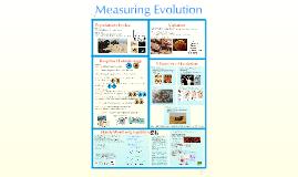 Copy of AP Bio- Evolution 4:  Measuring Evolution