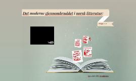 Det moderne gjennombruddet i norsk litteratur: