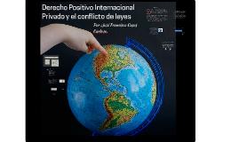 Derecho positivo internacional privado