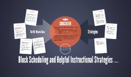 Block Methodology and Instructional Strategies