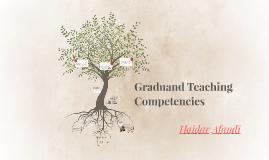 Graduand Teaching