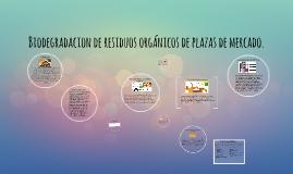 Copy of Biodegradacion de residuos organicos de plazas de maercado