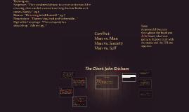Copy of The Client: John Grisham