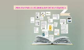Copy of PROCESO PARA LA ELABORACION DE MANTEQUILLA