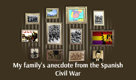 My family's anecdote from the Spanish Civil War