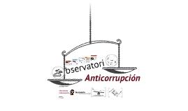 Observatorio anticorrupción