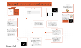 Personal Care - unit 4- assignment 3