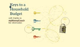 Keys to a Household Budget