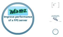 Improve Server Performance