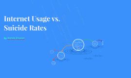 Internet Usage vs. Suicide Rates