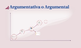 Argumentativa o Argumental