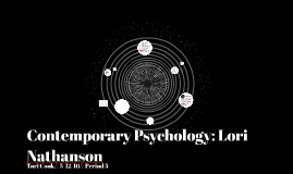 Contemporary Psychology:
