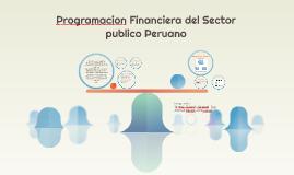 Programacion Financiera del Sector publico Peruano
