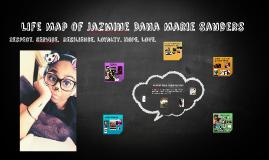 Life Map of Jazmine Dana Marie Sanders