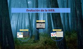 Evolución de la WEB.