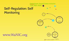 Self-Regulation: Self Monitoring