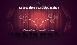 ISA E-Board Application