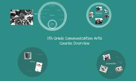 8th Grade Communication Arts