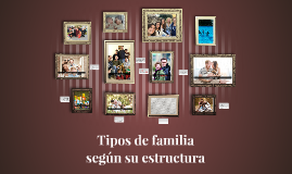 Copy of Tipos de familia