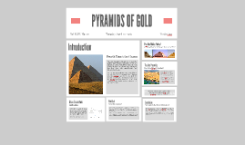 PYRAMIDS OF GOLD