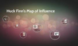 Huck Finn's Map of Influence
