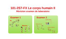 2S7  Révision examen de laboratoire
