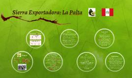 Sierra Exportadora: La Palta