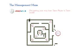 The Management Maze Part 8