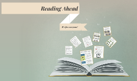 Reading Ahead is for everyone (June 2018)