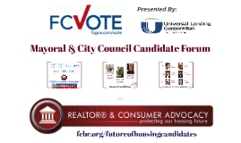 Mayoral & City Council Candidate Forum