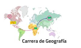 Carrera de Geografía