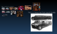 The biggest and regular limousines and party buses