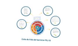 Copy of Copy of Etapas del servicio ITIL V3 y sus procesos