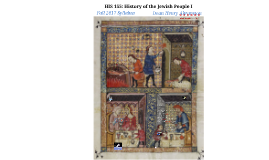 HISN 155 Syllabus History of the Jewish People I Fall 2017