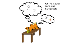 Myths about food and nutrition