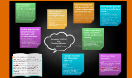 Developing & Writing Your Teaching Philosophy