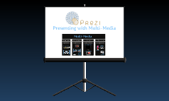 Copy of Using Multi-Media in Prezi