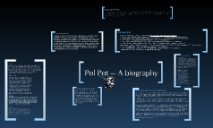 Biography Pol Pot