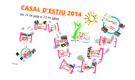 CASAL d'ESTIU 2014