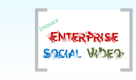 Copy of Copy of Harness the power of enterprise social video