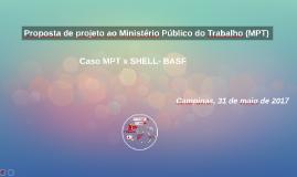 Proposta de projeto ao MPT