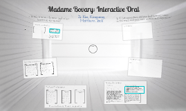 Copy of Madame Bovary Interactive Oral