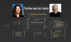 Marlene and Lee Canter