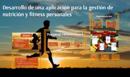 Desarrollo de una aplicación Android para la gestión de nutrición y fitness personales