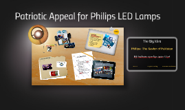 Patriotic Appeal for Philips LED Lamps