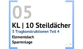KL | 10 Steildächer | P 05